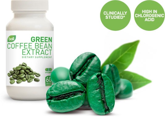 Wholesale & Private Label Green Coffee Bean Extract