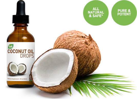 wholesale and private label coconut oil drops