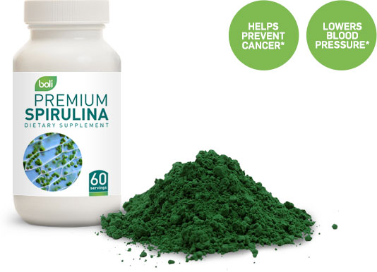 spirulina wholesale and private label