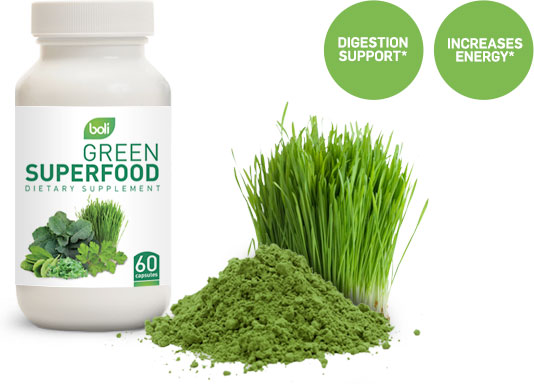green superfood wholesale and private label