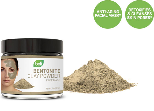 bentonite clay wholesale and private label